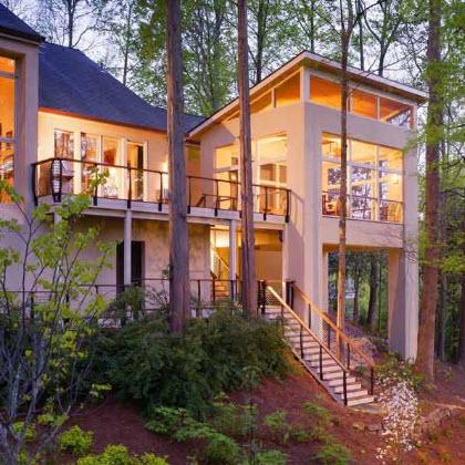 Deck and Screen Porch Railings – Atlanta, Georgia