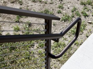 ADA compliant graspable hand rails