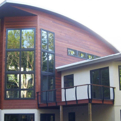 Curved Architecture – Chassell, Michigan