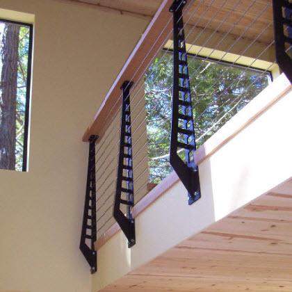 Balcony Cable Railing – Sea Ranch, California