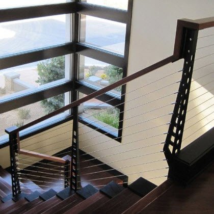Home Staircase and Balcony – Las Vegas, Nevada