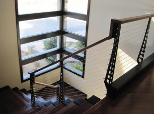 Corner Window Stairwell