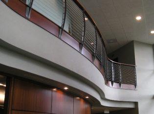 Curvaceous railing