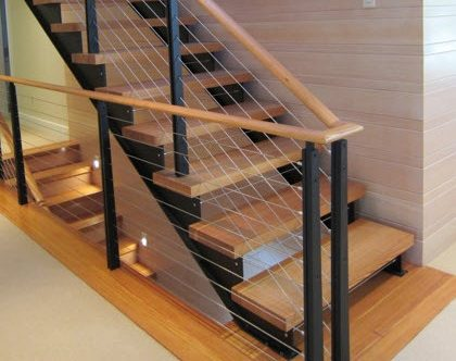 Custom Stair Cable Railing