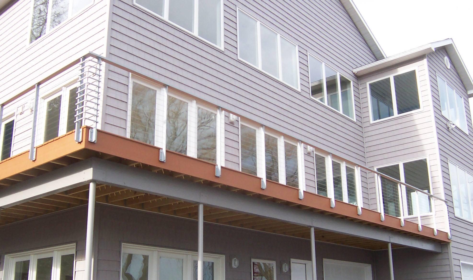 Deck railing Tokyo Style
