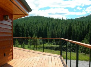 Enjoy natures beauty from the deck view