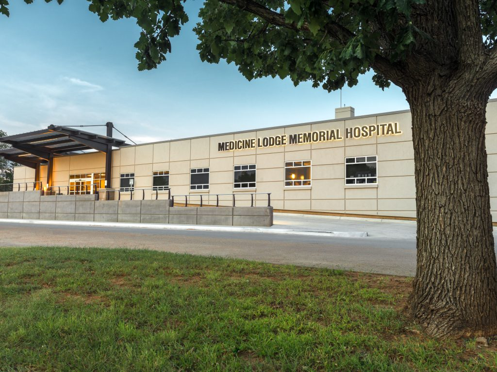 Medicine lodge hospital rail