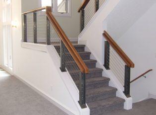 Integrated graspable handrail