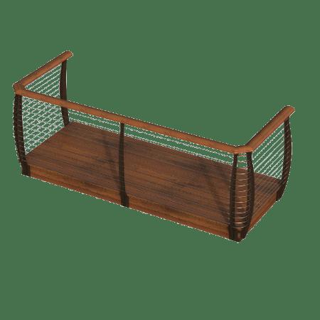 Keuka Style - Deck Assembly - Fascia Mount