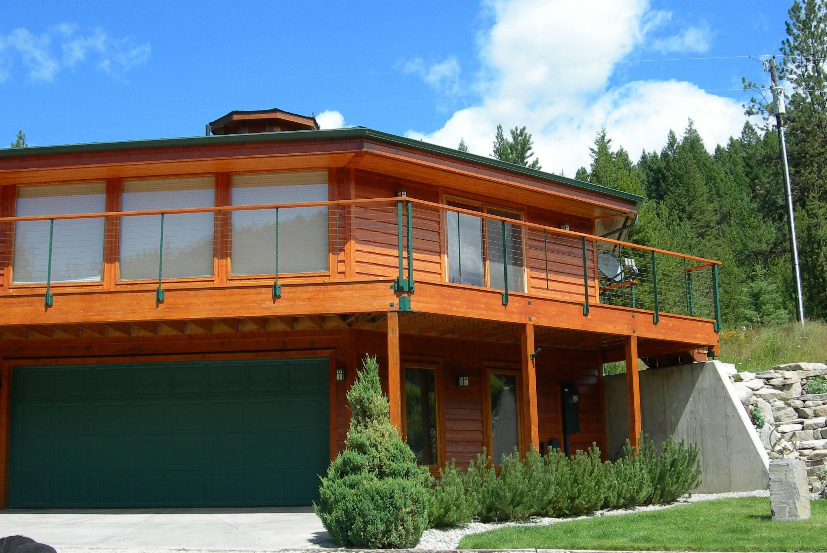 Keuka Studios Ithaca railing with custom railing color