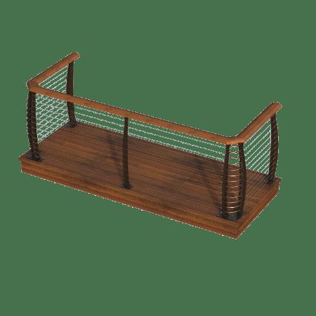 Keuka Style - Deck Assembly - Surface Mount