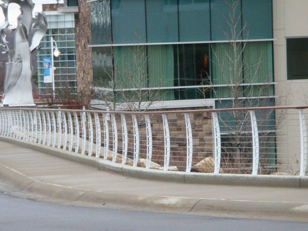 Lakeland Hospital health care railing