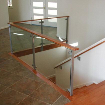 Glass Railing – Mineral, Virginia