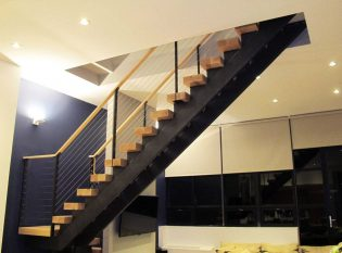 Narrow Loft Stairs