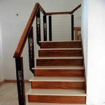 Modern Prairie Style Stair Railings – Avondale Estates, CA