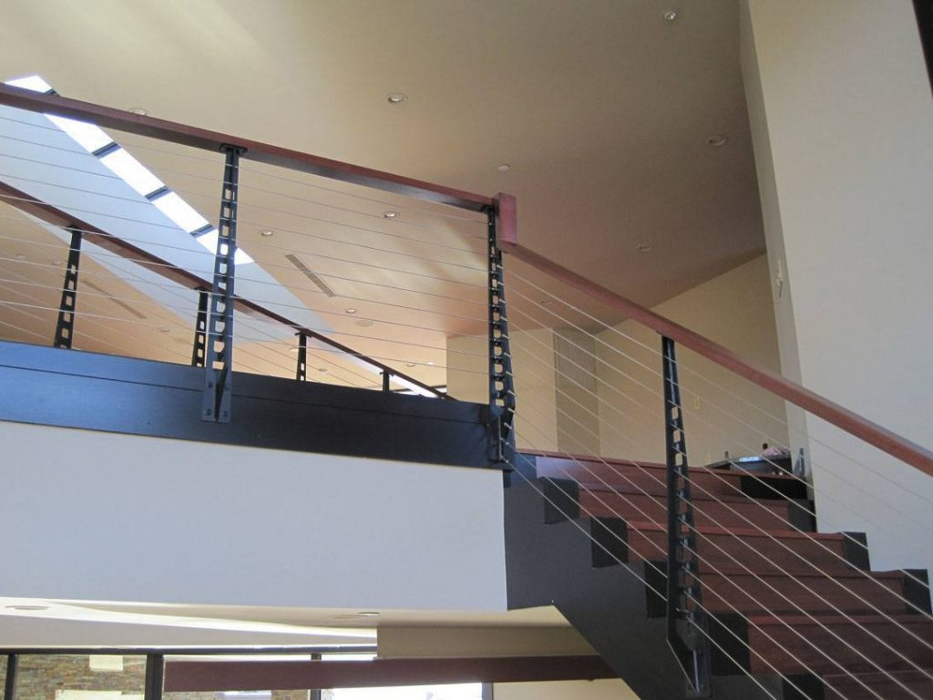 Modern Stair Railing And Balcony Railing Las Vegas Nv