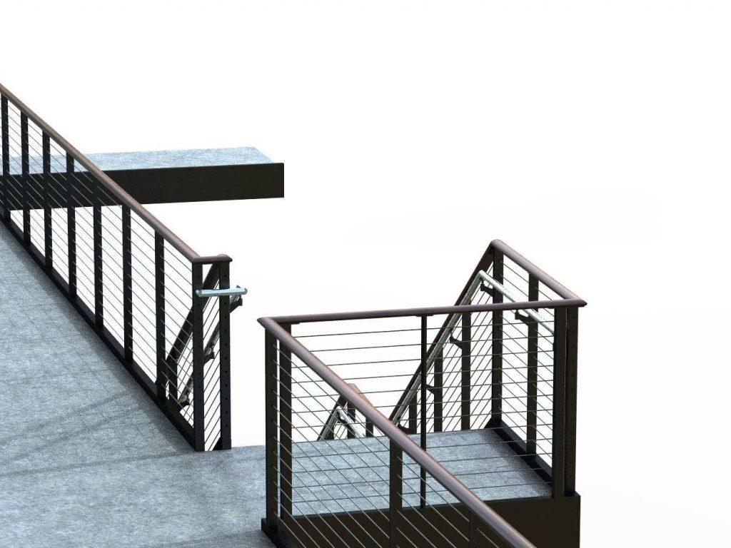 ada compliant graspable handrails
