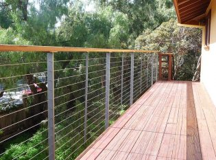 Thin Deck Railing Posts
