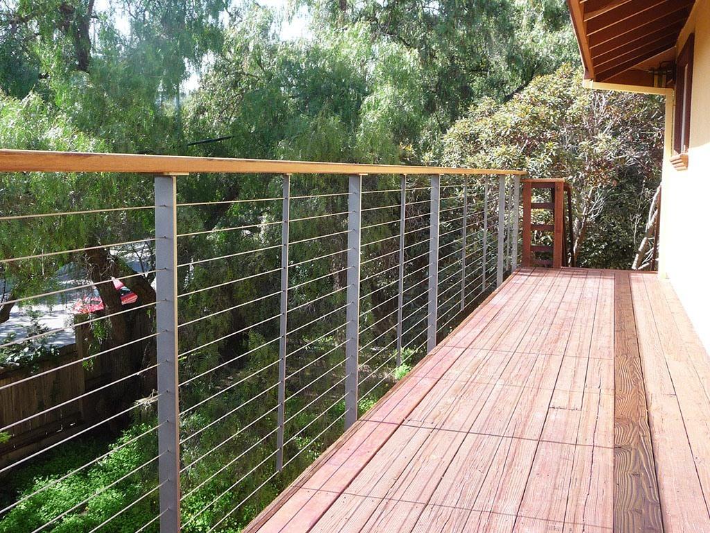 Thin Deck Railing Posts