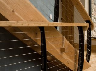 Timber stair stringer
