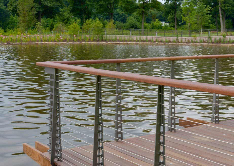 Waterfront Railing
