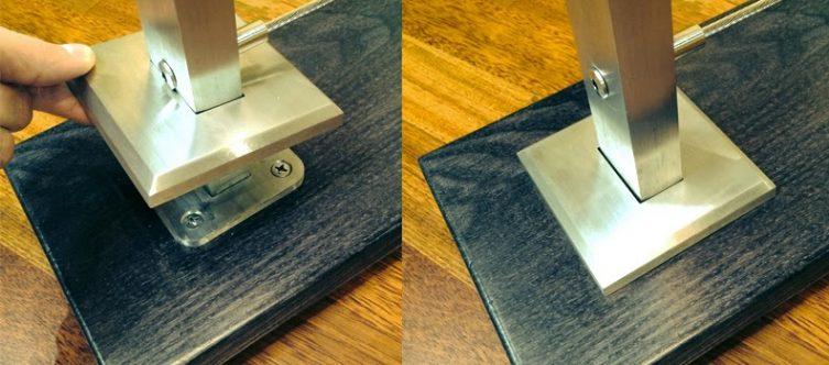 Railing Escutcheon Plate