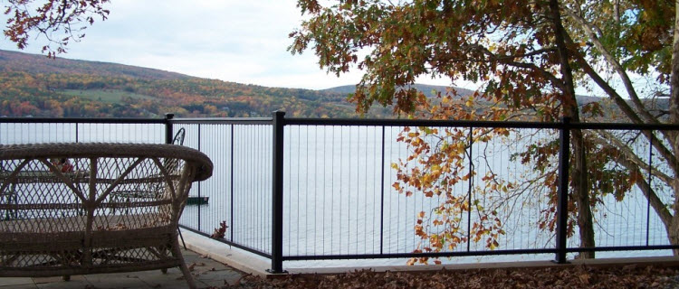 Pool Fence Blocking Your View Keuka Studios