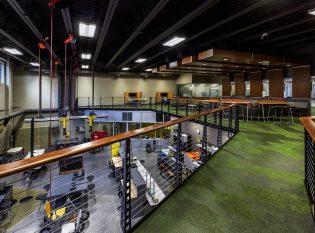 Steel Catwalk Labratory Chicago Railing