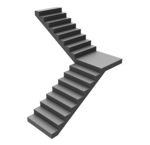 Dog led stair