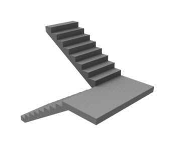 u-shaped-stair-graphic