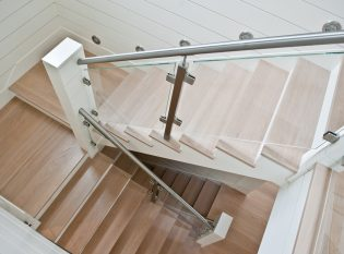Light oak stair treads