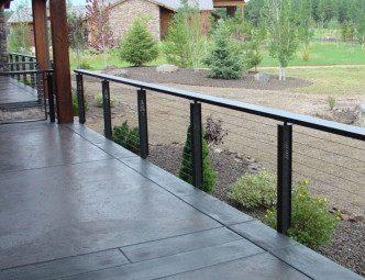 Pine Top Arizona railing