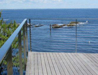 Ogunquit Maine Deck Cable Railing