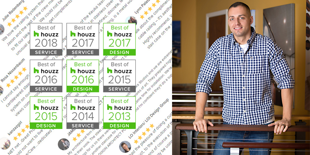 Awards From Houzz For Great Service