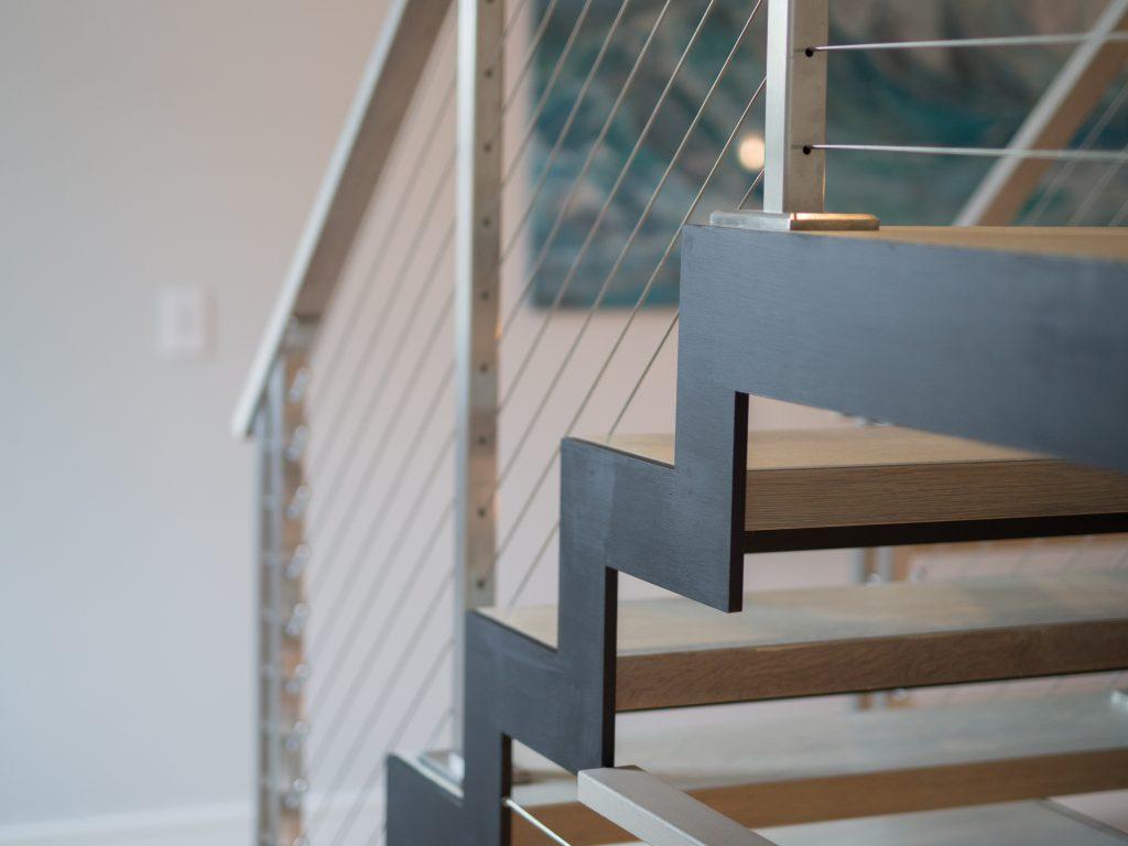 Zigzag Stairs And Sawtooth Stringers Keuka Studios