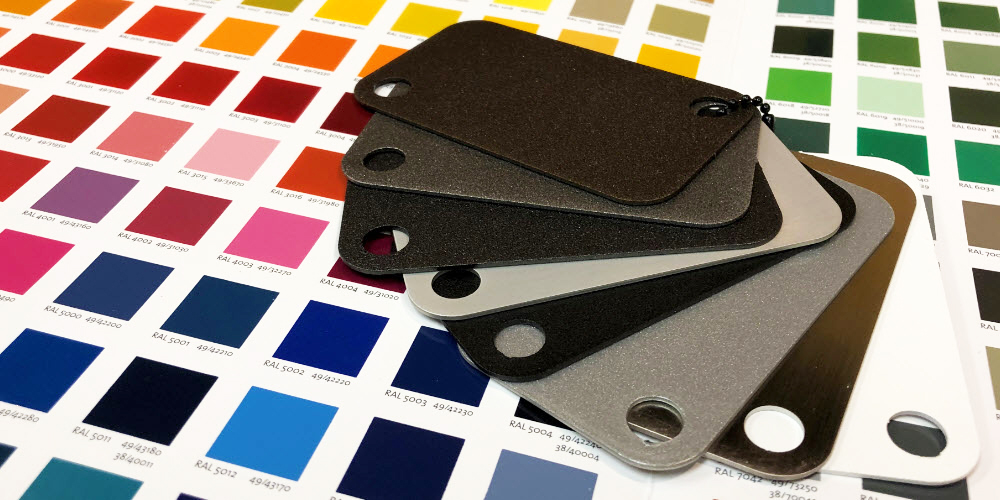 Powder Coat Colors and Finishes