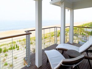 Beach house railing systems