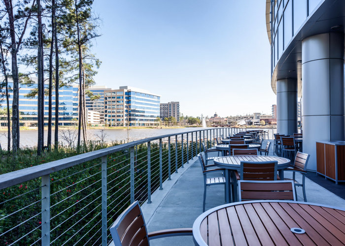 Mixed-Use Development with Cable Railing Patio