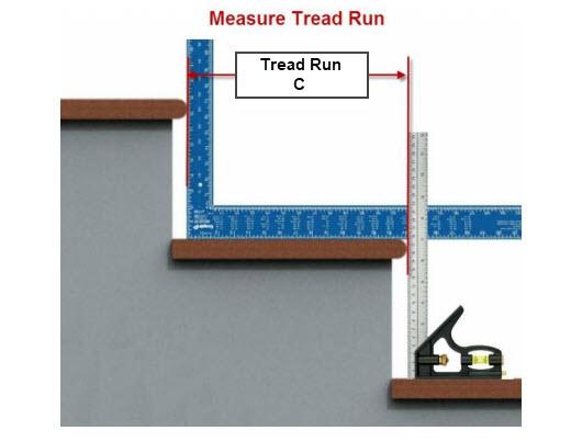 Measure the Tread Run