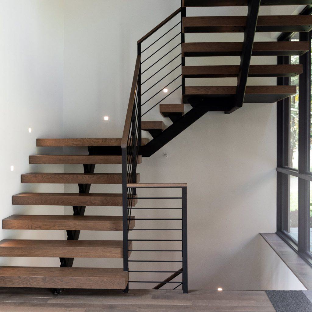How Much Do Custom Floating Stairs Cost Keuka Studios