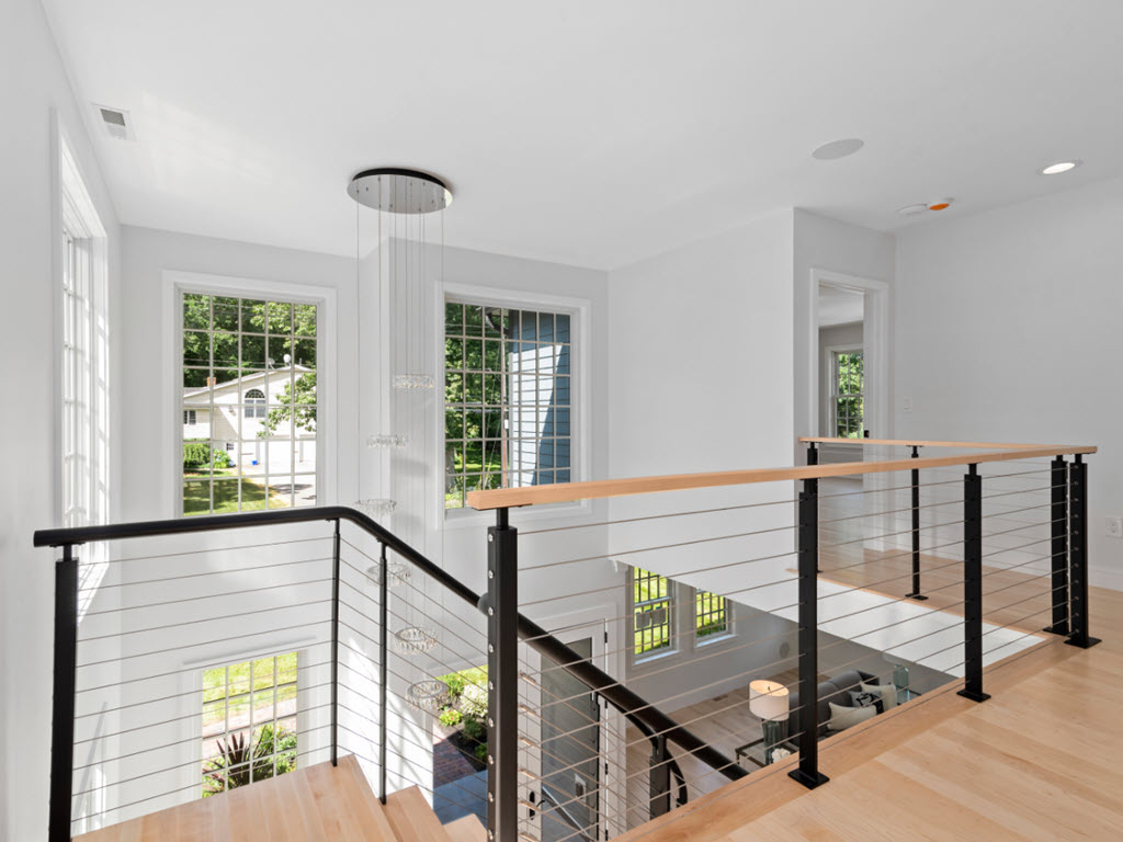 Second Level Balcony with cable railing system
