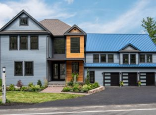 Traditional Modern Home in Andover, MA