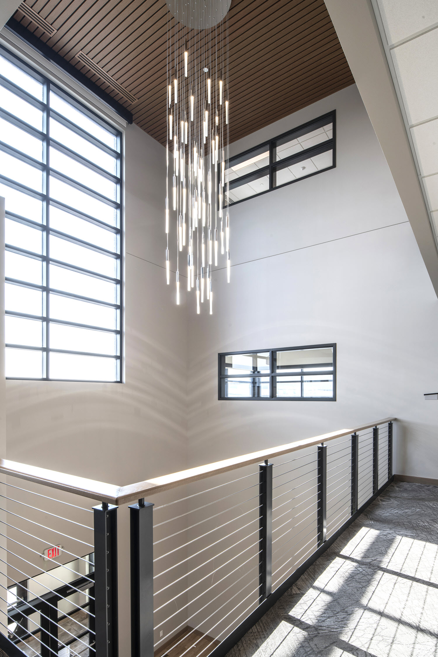 Stairs and Balconies with modern cable railing system