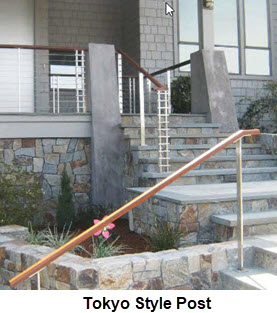 Sleek Modern Railing with Square lines